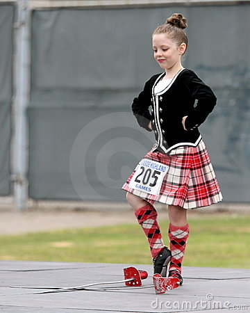 Seaside Highland Games Editorial Photo