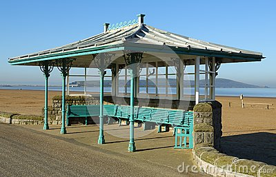 Seaside Ornate Shelter