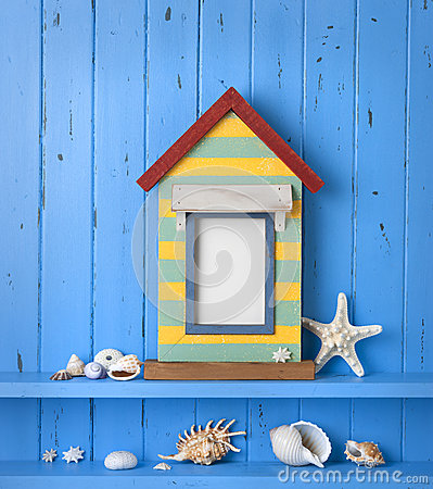 Free Seaside Picture Frame Background Stock Images - 30305864