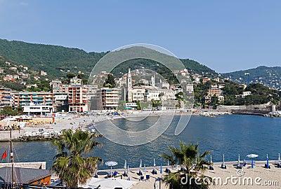 Seaside in Recco, Italy