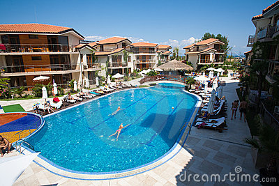 Seaside resort in Bulgaria Editorial Stock Photo