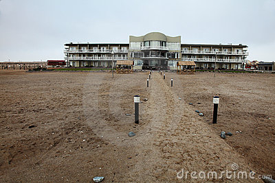 Seaside resort near Swakopmund, Namibia