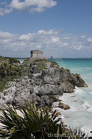 Seaside Temple at Tulum