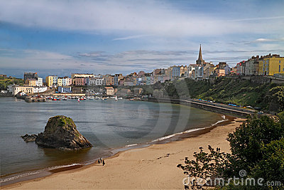 Seaside at Tenby