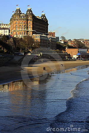 Seaside town of Scarborough - England Editorial Image