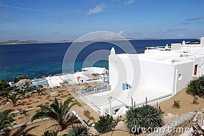 Seaside White Building