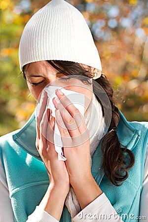 Season change allergy