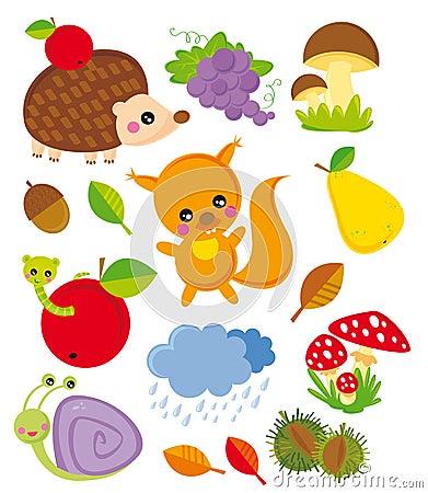 Free Season Elements- Autumn Royalty Free Stock Photography - 6558737
