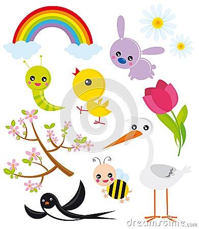 Season elements- spring