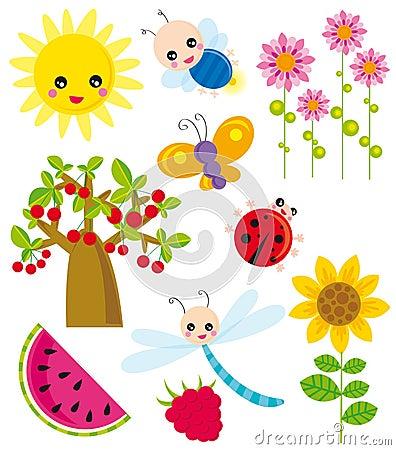 Season elements- summer
