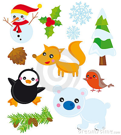 Season elements- winter