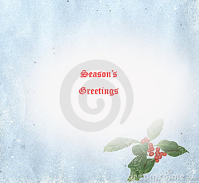 Season s Greetings Card Illustration