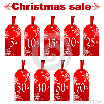 Seasonal christmas sale