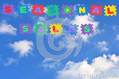 Seasonal sales-clouds