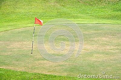 Seasoned Golf Green