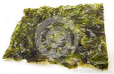 Seasoned nori seaweed