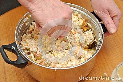 Seasoning the salad