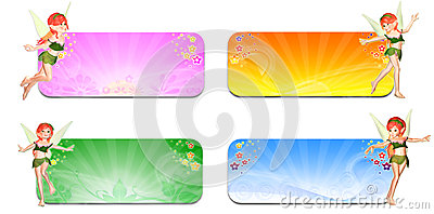Seasons Faeries Header/Banner