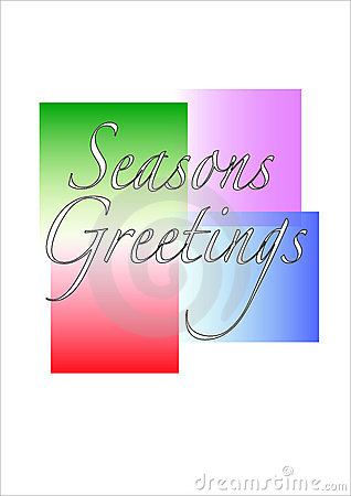 Seasons Greetings Illustration