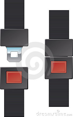 Free Seat Belt Buckle Royalty Free Stock Photo - 7236435