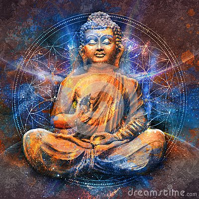 Free Seated Buddha In A Lotus Pose Royalty Free Stock Photo - 102468225
