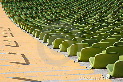 Seating olympic stadium