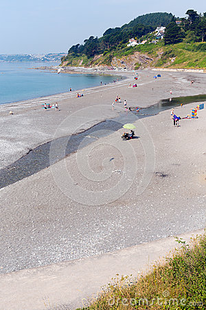 Seaton Cornwall Anglia Fotografia Editorial