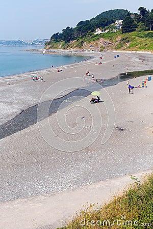 Seaton Cornwall Anglia Fotografia Editorial