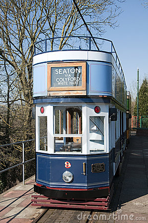 Seaton Tramway Editorial Photography