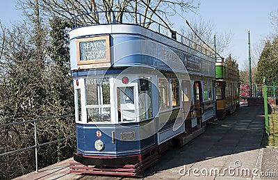 Seaton Tramway Editorial Stock Photo