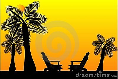 Seats in Paradise silhouette