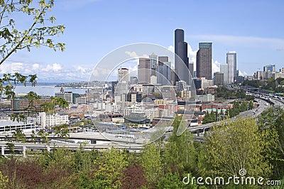 Seattle Washington Downtown Buildings Architecture
