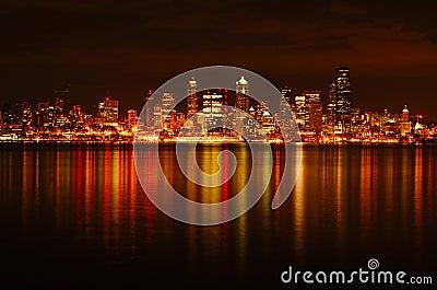 Seattle City Downtown