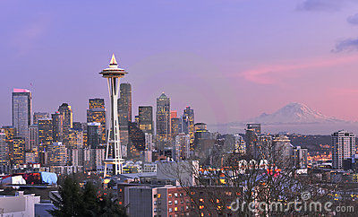 Seattle City Landscape