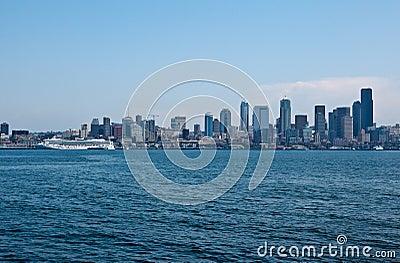Seattle Cityscape and Transatlantic