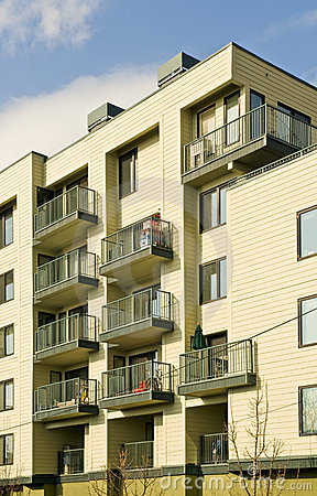 Free Seattle Condominium Royalty Free Stock Photography - 4647687