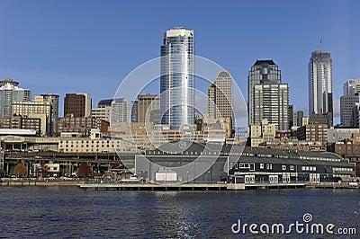 Seattle, Pijler 59 Redactionele Fotografie