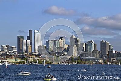 Seattle Skyline on Lake Union