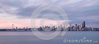 Seattle skyline panoramic