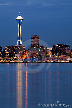 Seattle Space Needle Editorial Image