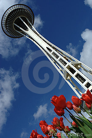 Seattle Space Needle Editorial Stock Image