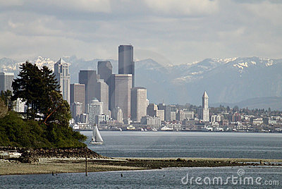 Seattle wiosna