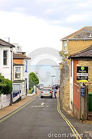 Seaview, Isle of Wight. Editorial Photo