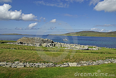 Seaview over the Broch of Gurness