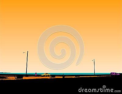 Seawall graphic