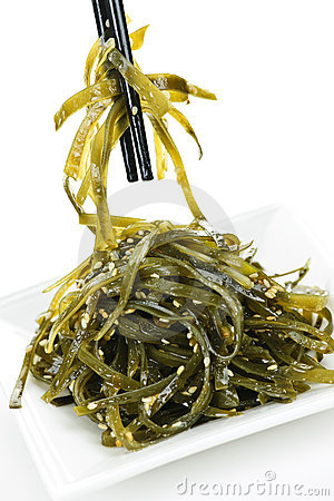 Free Seaweed Salad Stock Images - 16126344