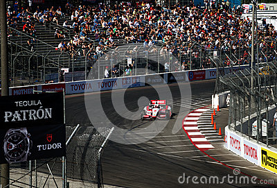 Sebastian Burdais at the Toyota Grand Prix of Long Beach Editorial Stock Photo