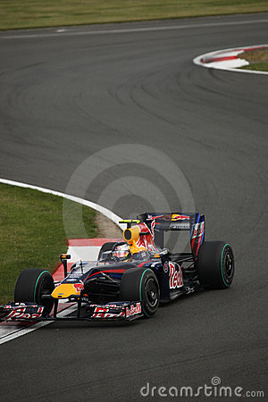 Sebastian Vettel at the British Grand Prix Editorial Stock Image