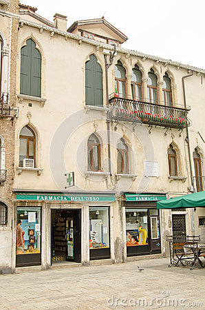 Sebastiano Venier Historic Home Editorial Image