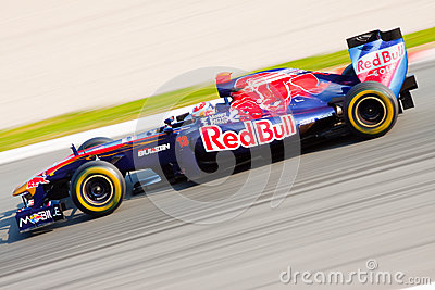Sebastien Buemi - Toro Rosso - F1 2011 Editorial Stock Photo